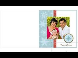 free photo insert christmas cards youtube