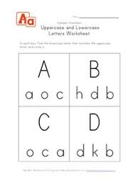 matching uppercase and lowercase letters kid stuff pinterest