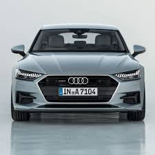 audi shows off new 2019 a7 sportback 95 octane