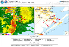 Illinois Tornado Map by Tornado Warning Including Texas City Tx La Marque Tx Hitchcock