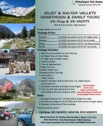 Family Packages 2016 Announcing 2016 Gilgit Hunza Valleys Honeymoon Family Tour