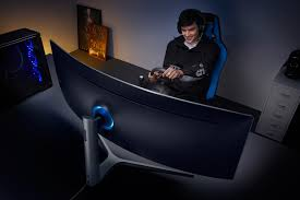 samsung unveils the world u0027s widest u0026 first qled gaming monitors