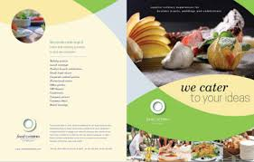 catering brochure templates catering menu template 30 free psd eps