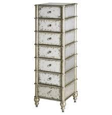 shabby chic lingerie chest harlow hollywood regency antique mirror 7 drawer lingerie chest