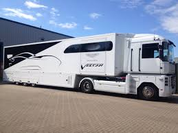 aston martin truck aston martin race car transporter delivered bespoke handling ltd