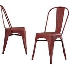 Distressed Bistro Chair Flash Furniture Et 3534 Cop Gg Distressed Metal Indoor Stack Chair