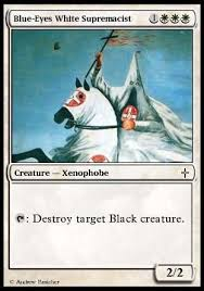 White Power Meme - white power and toughness magic the gathering know your meme
