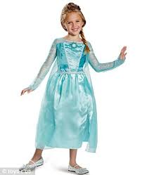 Elsa Costume Most Popular Halloween Costumes Of 2014 Frozen U0027s Elsa And Anna