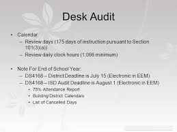Desk Audit Intro To Pupil Auditing Rob Dickinson Mpaaa And Barbette Lane