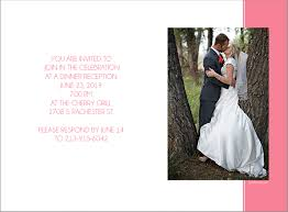 wedding announcements coral photo wedding announcements photo card chef