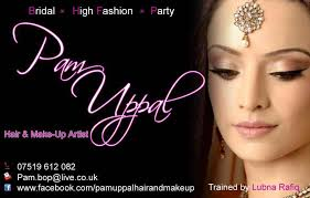 website for makeup artist pam uppal professional freelance hair and make up artist slough