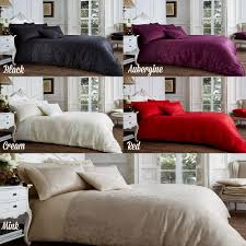 bed u0026 bath vincenza jacquard duvet cover set 5 colours