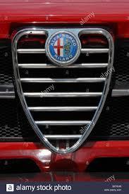 alfa romeo emblem alfa romeo gtv 1750 coupe classic red italian sports car clover