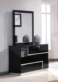 Glossy White Dresser Bedroom Terrific Black Dresser With Mirror Designs Custom Decor
