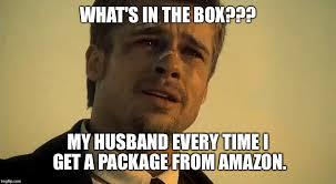 Whats In The Box Meme - brad pitt se7en meme generator imgflip