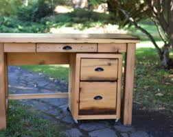 Reclaimed Wood File Cabinet Reclaimed Lath Wood East End Desk Office Furniture Creative