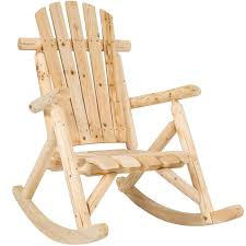 best rocking chair best choice products wood log rocking chair single rocker