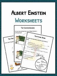 albert einstein biography ks2 albert einstein facts biography worksheets for kids