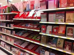 target addict target s incredibly shrinking card section