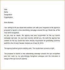 advertising proposal letter current cover letter resume emr