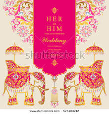 Indian Wedding Card Matter Pdf Wedding Invitation Stock Images Royalty Free Images U0026 Vectors