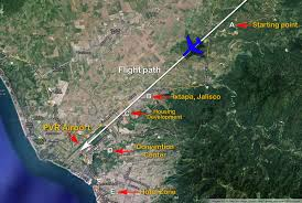 Jalisco Mexico Map Puerto Vallarta International Airport Pvr