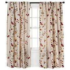 Floral Curtains Threshold Watercolor Floral Curtains Panel Pink 54 X 84
