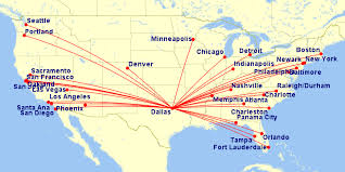 swa route map southwest airlines the anglophile aviator in dallas