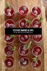 10 festive snacks u0026 sips the everygirl