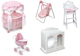 Baby Doll High Chair Set Furniture Home Goods Appliances Athletic Gear Fitness Toys