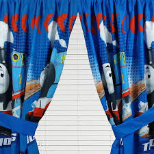 Thomas The Tank Room Decor by Thomas Train Curtain Set Faster Tank Engine Window Drapes Amazon