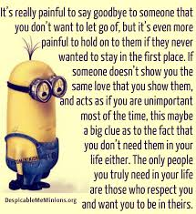 it s really to say goodbye minion quotes
