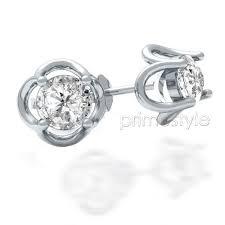 diamond stud earrings for women cut diamond stud earrings for women primestyle
