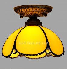 Ls Ceiling Lights Yellow Type Semi Flush Mount Ceiling Lights For Foyer