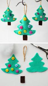 felt tree ornament diy craftbnb