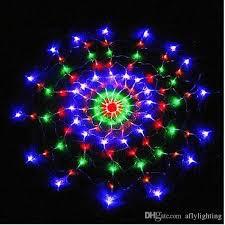 cheap 1 2m 120led spider web led string lights net light