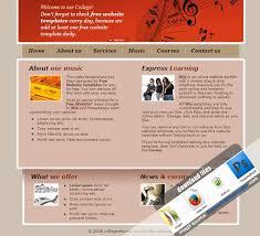 music template music templates music templates free music