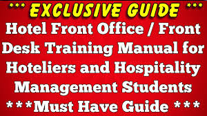 100 hotel standard operating procedures manual instrument