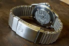 omega style bracelet images The omega shark mesh bracelet the learned gentleman jpg