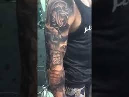 ibud tattoo studio bali full sleeve tattoo youtube