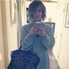 penny with short hair kaley cuoco from the big bang theory has cut her hair short and