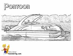 pontoon boats clipart 37