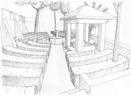 download landscape drawing ideas garden design