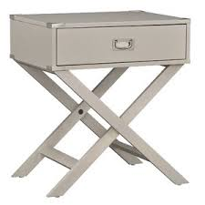 modern silver nightstands allmodern