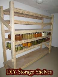 diy storage shelves build your own canned food storage shelves lil moo creations