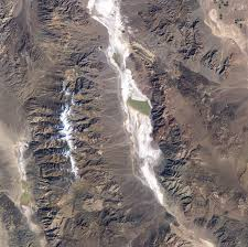 Map Of Death Valley Lake Badwater Death Valley Image Of The Day