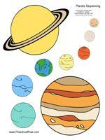 planet color sheet planets coloring grade