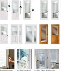 Exterior Door Inserts 30 Unique Exterior Door Glass Inserts With Blinds Exterior Door