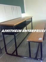 college furniture duel college desk manufacturer from bengaluru