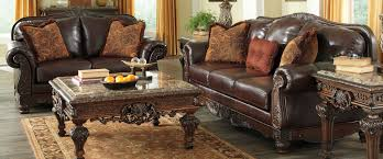 Ashley Furniture Leather Sofa by Buy Ashley Furniture 2310038 2310035 Set North Shore Plus Coffee
